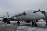 Самолет Airbus A350 Singapore Airlines // Юрий Плохотниченко
