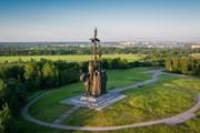 """Монумент """"Ледовое побоище"""" на горе Соколиха // Виктор Саломатов, tourism.pskov.ru"""