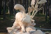 """В парке деревянной скульптуры """"Лукоморье""""  // alukomor.ru"""