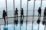 Высота площадки в Шанхае - 546 метров. // people.com.cn