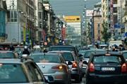 Улицы Милана запружены транспортом. // btboresette.com