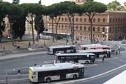 Автобусы в Риме // Юрий Плохотниченко