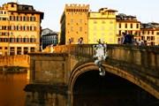 Мост Санта-Тринита во Флоренции // Panoramio.com