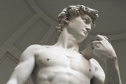 "Знаменитый ""Давид"" Микеланджело - жемчужина Галереи Академии."