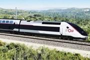 Рисунок поезда в раскраске InOui // SNCF