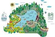 Карта будущего Муми-парка близ Токио // visitjapan.ru