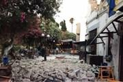 На острове Кос погибли двое, пострадали больше ста человек. // ITV.com