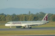 Самолет Qatar Airways // Юрий Плохотниченко