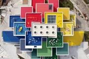 Lego House как будто сложен из конструктора. // Jam Press