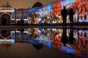 4 и 5 ноября на Дворцовой - световые шоу. // our-spb.ru