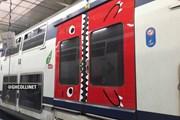 Зубастая дверь в поезде RER // bfmtv.com