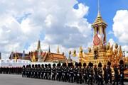 Для похорон короля построили уникальный комплекс.