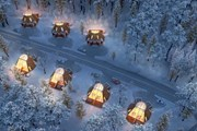 Отель Snowman World Glass Resort // snowmanworld.fi