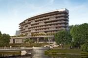 Гостиница расположена на берегу водоема. // crystalhouse.info