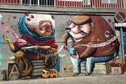 Граффити в мадридском районе Moratalaz // Flickriver
