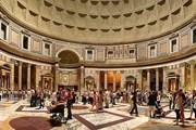 Ежегодно Пантеон посещают 7 миллионов туристов. // Wikipedia