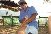 Туристам нравится массаж на пляже. // TripAdvisor