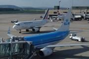 Самолеты Air France и kLM // Юрий Плохотниченко