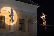 В замковых дворах организуют представления. // npu.cz
