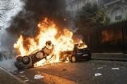 В прошлые выходные по Франции прокатилась волна беспорядков. // INPHO