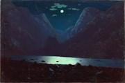 """Дарьяльское ущелье. Лунная ночь"" А. Куинджи // wikipedia.org"