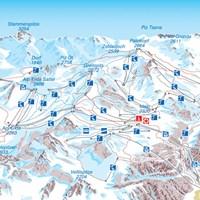 Схема трасс Ишгля (Западный Тироль)