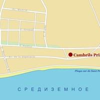Карта курорта Камбрильс