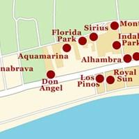 Карта курорта Санта-Сусанна