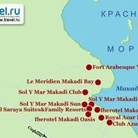 Карта Макади-Бей