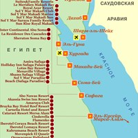 Карта района Макади - Эль-Кусейр