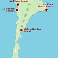Карта курорта Самет