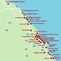 Карта курорта Протарас
