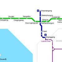 Схема метро в Шенжене