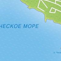 Карта курорта Трогир