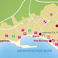 Карта курорта Башка-Вода