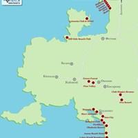 Карта курорта Фетхие