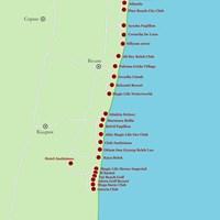 Карта курорта Белек