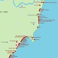 Карта курорта Сиде