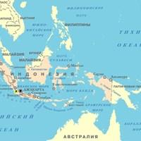 Карта курортов Индонезии