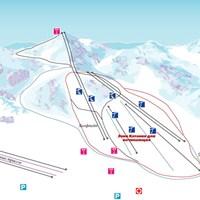 Схема трасс в Наншане