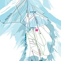 Схема трасс в Аспен-Хайлендс