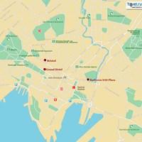 Карта Осло