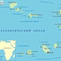 Карта Кабо-Верде