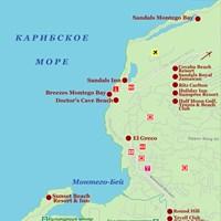 Карта Монтего-Бей