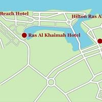 Карта Рас-аль-Хайма