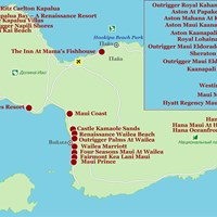 Карта острова Мауи