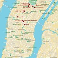 Карта Нью-Йорка