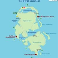 Карта острова Хуахин