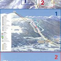 Карта курорта Голо