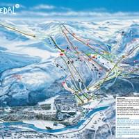 Карта курорта Хемседал
